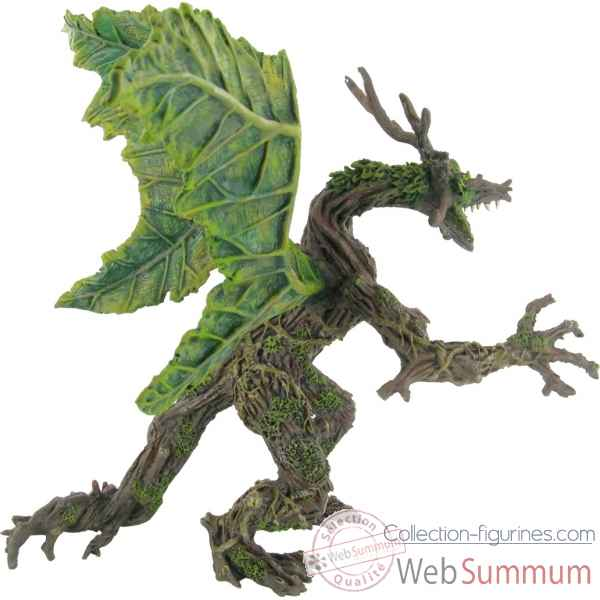 Figurine le dragon vegetal printemps  Plastoy 60246