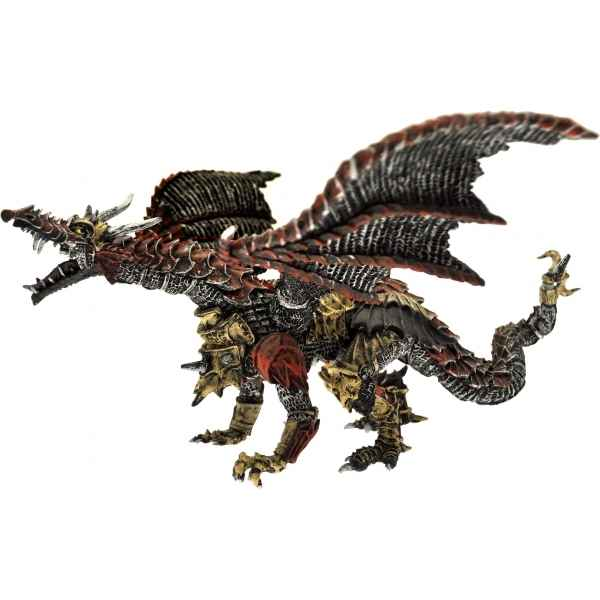Figurine le dragon de metal Plastoy -60249