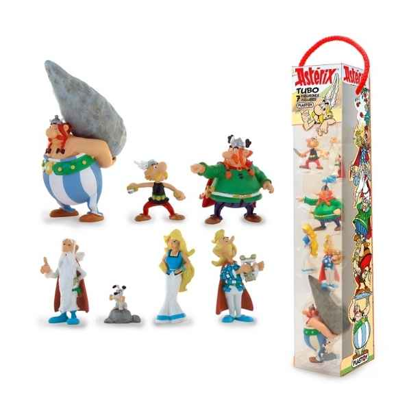 Tubo asterix village (6 figurines) Plastoy -70385