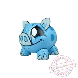 Joe ledbetter tirelire piggy bank bleu 14 cm Play Imaginative -JL028764