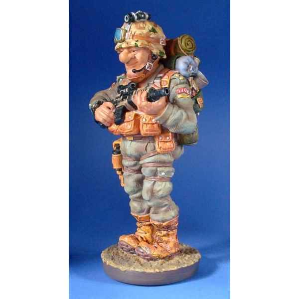 Figurine profession - soldat (grand) - pro18 Profisti
