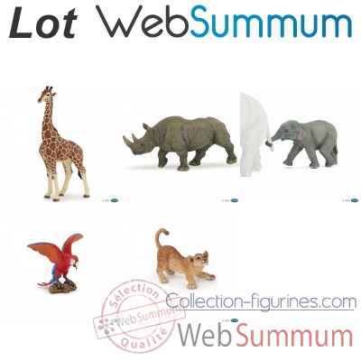 Promotion figurine animaux sauvages Papo -LWS-237