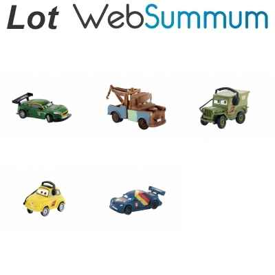Promotion figurine Cars 2 Lot 2 Bullyland -LWS-189