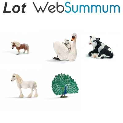 Promotion figurine cheval divers Schleich -LWS-8