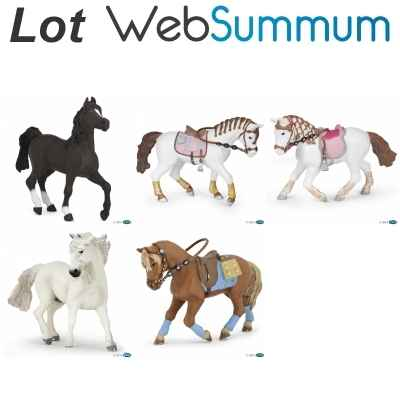 Promotion figurine cheval Papo -LWS-21