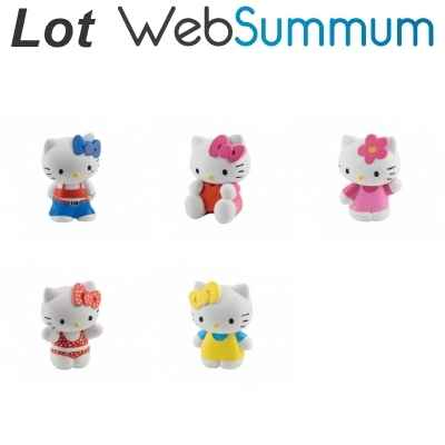 Promotion figurine Hello Kitty Bullyland -LWS-192