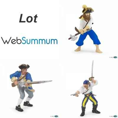 Promotion Figurine pirate et marin Papo -LWS-122
