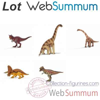 Promotion Figurines les dinosaures Schleich -LWS-94