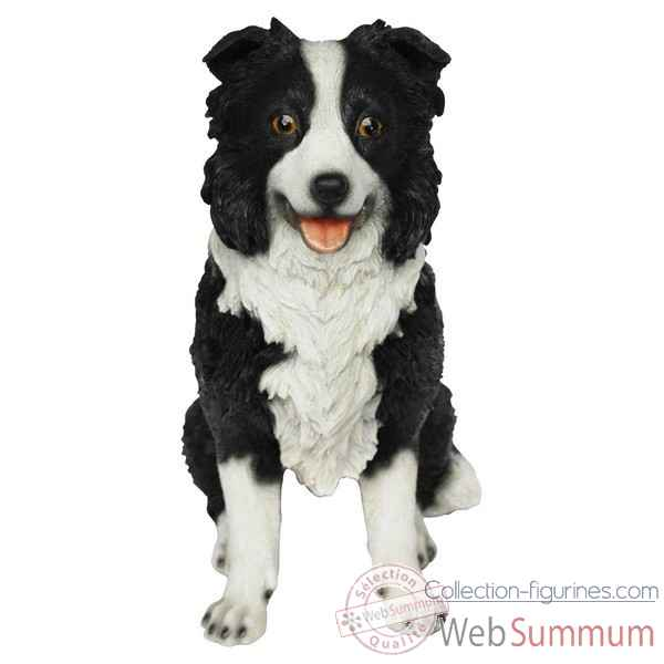 Border collie pm assis 27 cm Riviera system -200364
