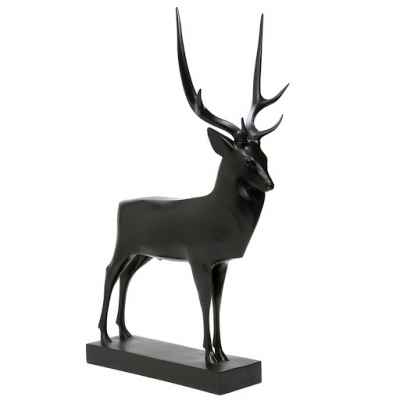 Reproduction statuette musee grand cerf (pompon) art francais -RF006005