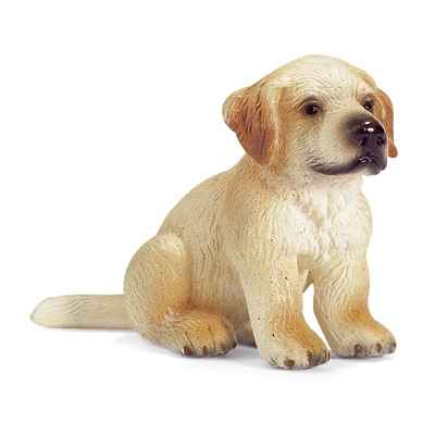 schleich-16342-Chiot Golden Retriever echelle 1:12