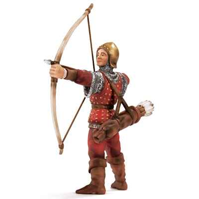 Video schleich-70015-Figurine Archer, echelle environ 1:20