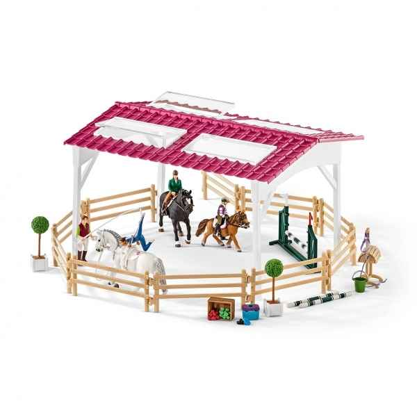 pick up avec remorque pour cheval figurine schleich sur collection figurines poulain fjord. Black Bedroom Furniture Sets. Home Design Ideas