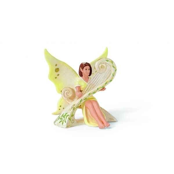 Figurine elfe avec harpe animaux schleich dans Figurines Elfes de ...