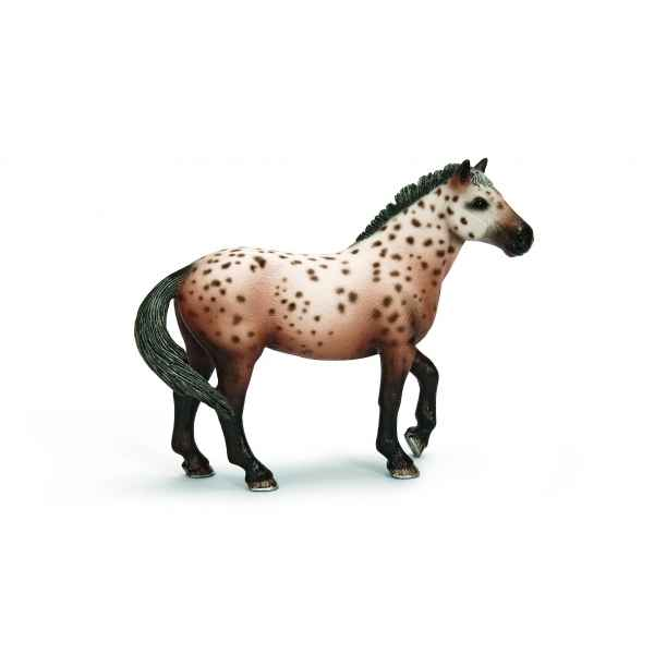 Figurine etalon knabstrupper animaux schleich 13689