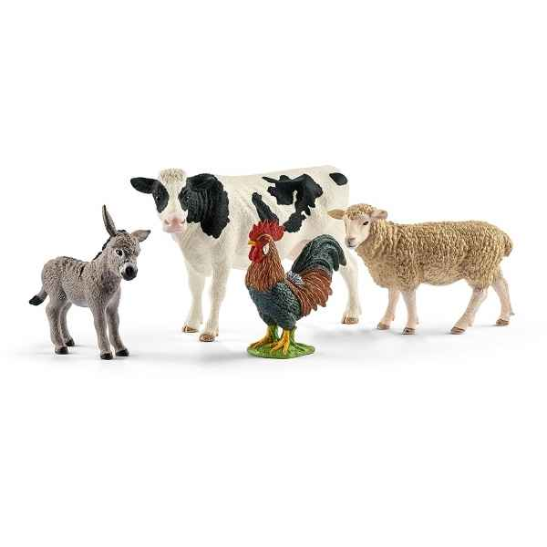 Figurine kit de base farm world schleich -42385