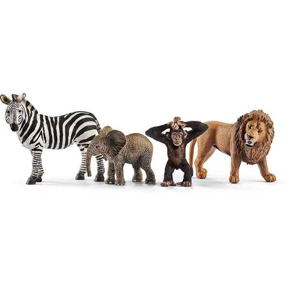 Figurine kit de base wild life schleich -42387