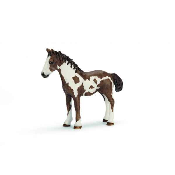 Figurine yearling pinto  animaux schleich 13695