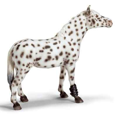 Video schleich-13617-Jument Knabstrupper