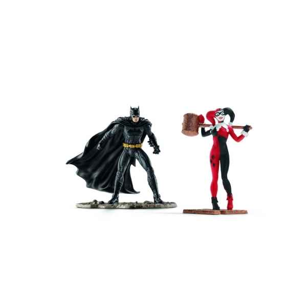 Scenery pack batman vs. harley quinn schleich -22514