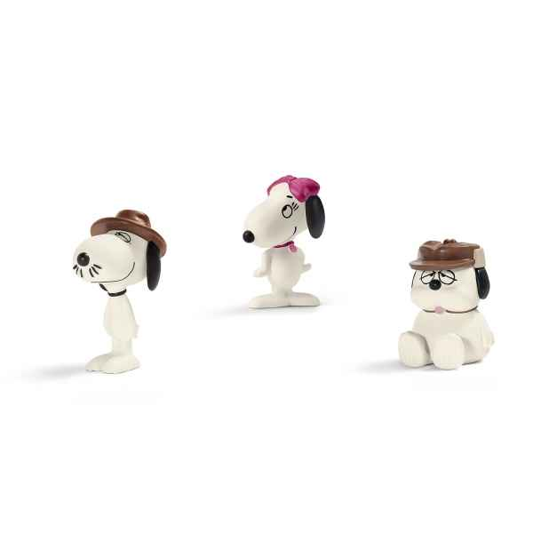 Scenery pack snoopy\\\'s siblings schleich -22058