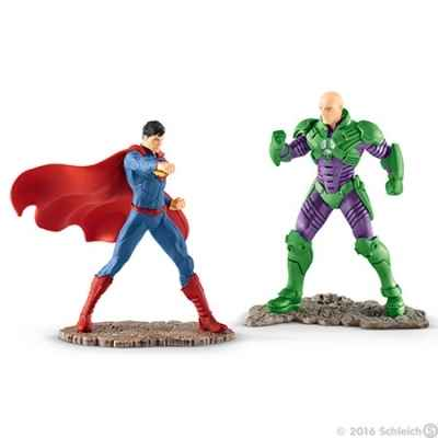 Scenery pack superman vs lex luthor figurine schleich -22541