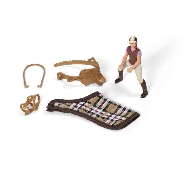 Set equitation schleich -42057