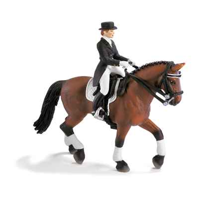 schleich-40187-Set equitation dressage