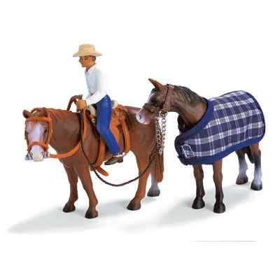 Video schleich-40188-Set equitation western
