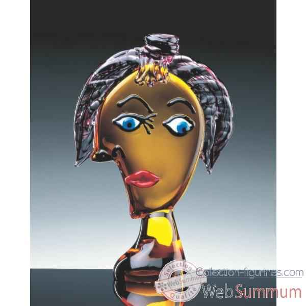 verre de murano personnage collection figurines. Black Bedroom Furniture Sets. Home Design Ideas