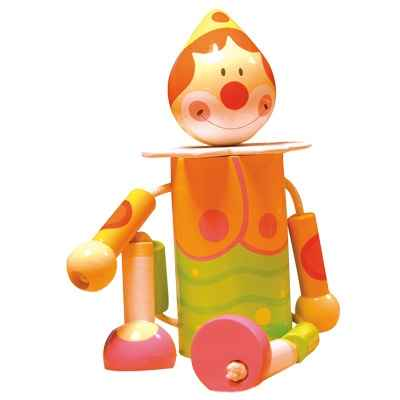Tirelires pantin Le coin des enfants clown -12374