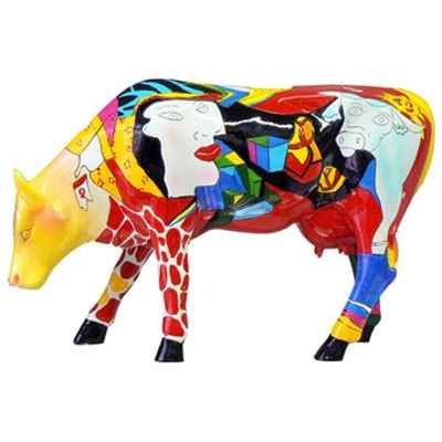 Cow Parade -South Africa 2005, Artiste Annalie Dempsey - Hommage to Picowso\\\'s African Period-46357