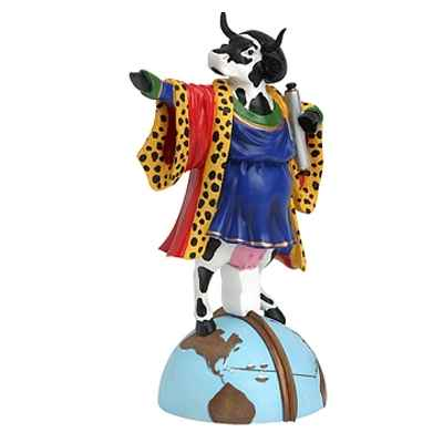 Video Cow Parade -Barcelona 2005, Artiste Enric Aromi - Cowlumbus -47730