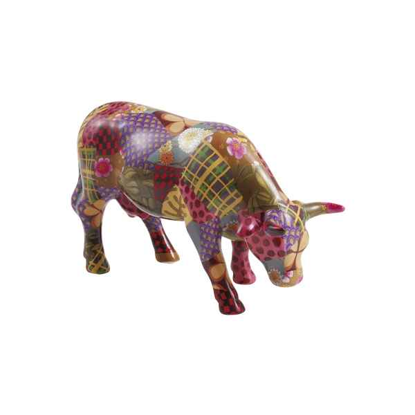 Vache Cow Parade ceramique Patch Work Suit MMC47381