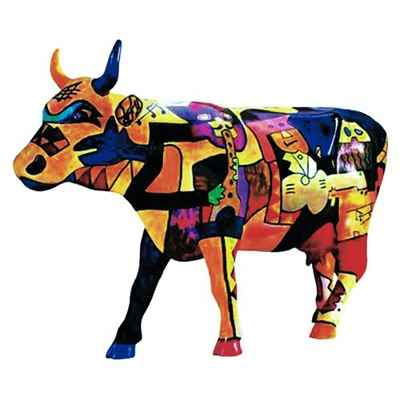 Cow Parade -Houston 2001, Artiste Claer Lake High School - Picowso\\\'s Moosicians-46153