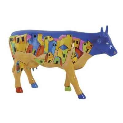 Vache Cow Parade Vibrant Village par Liberty Station -46474