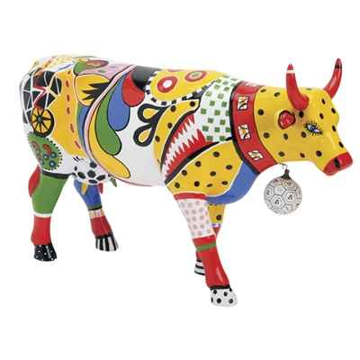 Vache Cow Parade Kick New York 2000 -46450