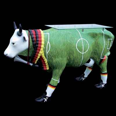 Vache Soccer-Table Cow in Country Design Art in the City - 80906